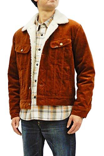 Lee Men's Corduroy Sherpa Jacket Inspired 101LJ Storm Rider Jacket LT0647 Dark Brown Tagged Size Japan XL (US L)