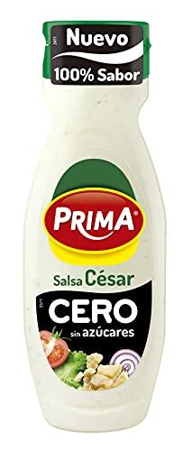 Prima - Salsa César Cero, Sin Azúcares Añadidos, Mismo Sabor con Menos Calorías, 310ml