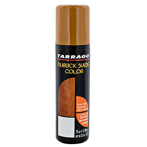 Tarrago | Nubuck Suede Color 75ml | Renovador de Color para Ante y Nobuck (Marrón Medio 39)
