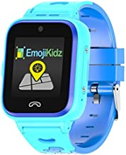 2020 Model 4G Kids Smartwatch Preinstalled SpeedTalk SIM Card GPS Locator 2-Way Face to Face Call Voice & Video Camera SOS Alarm Remote Monitoring Worldwide Coverage in 200 Countries [Ages 4-12] Blue