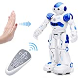 KINGSDRAGON Robot Toys RC Robot for Kids Rechargeable Intelligent Programmable Robot with Infrared