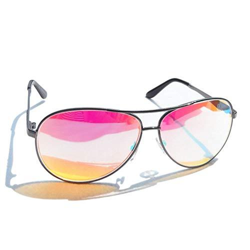 ZUEN Daltónicos Vidrios del Conductor De Moda Las Gafas De Color Ciego Los Vidrios De Las Señoras Rojas Verdes De Color Ciego Hombres Gafas De Sol Gafas De Corrección