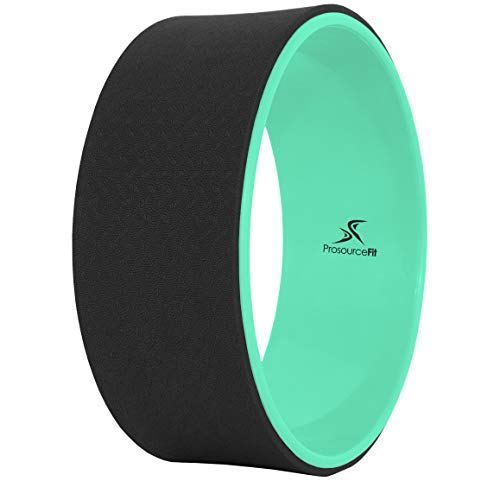 ProsourceFit Yoga Wheel - Black/Green