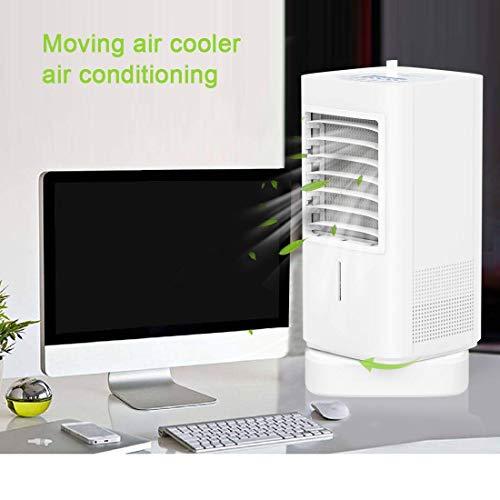 Appareil de climatisation mobile, personnel et silencieux 90 W Hautes performances Mini humidificateur d'air Pour la maison, le bureau, l'hôtel (prise secteur CA)
