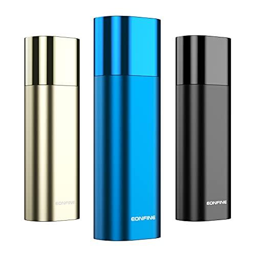 Eonfine 加熱式たばこ 互換機 アイコスに使用できる電子タバコ 3段階温度調節 バイブレーション機能付き 自動清掃 7秒予熱 20本連絡吸引 Type-C充電 ブルー