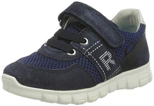 Richter Kinderschuhe Jungen Run Sneaker, Blau (Atlantic/White 7201), 34 EU