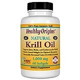 Healthy Orgins Krill Oil Gels, 1,000 mg, 60 Count