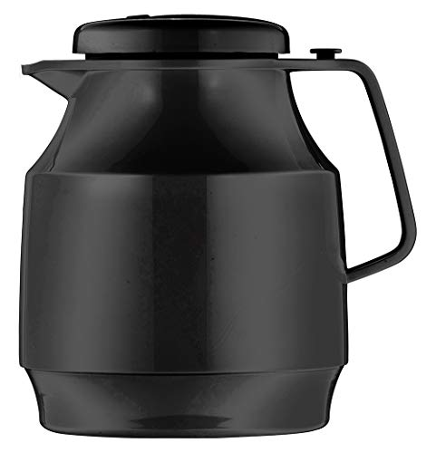Helios Tea Boy Isolierkanne 1,0 l schwarz