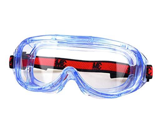 3M Gafas de Seguridad 100% Resistencia a Las bacterias y los Virus de la Influenza, para Proteger su...