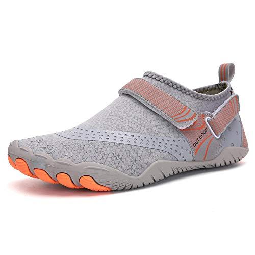 Zapatos de Piscina,Buceo Calzado de natación de Secado rápido montañismo Fitness Calzado Deportivo-C_39#,Zapatos Minimalistas