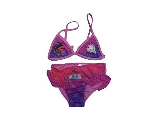 Doc McStuffins Bikini (122/128, pink)