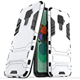 BAIYUNLONG Cas de Couverture, antichocs PC + TPU Case avec Support for Huawei Nova 5i Pro (Noir)...