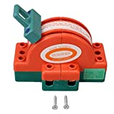 BQLZR 32A 2 Pole Double Throw DPDT Cutter Safety Disconnect Switch Iron Plated Zinc Type 1