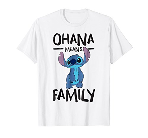 Disney Ohana Means Family Stitch T Shirt