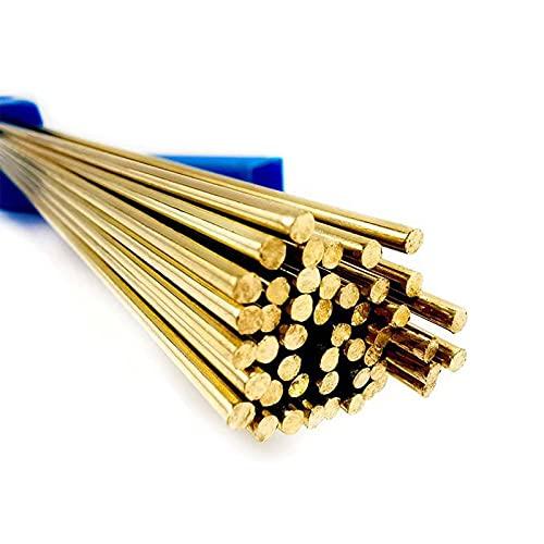 10 unids barras de soldadura de latón kit de soldadura de temperatura universal cables palitos HS221 Alambre de soldadura de latón de estaño 1.6 x 250 mm for herramientas de reparación de soldadura so
