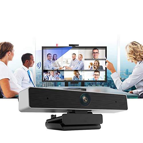 RIYIFER Full HD Webcam, Web Micrófono Plug and Play per Videoconferenza, Trasmissione Online Di Insegnamento Online-68 ° -113 ° Angolo Di Visione Regolabile