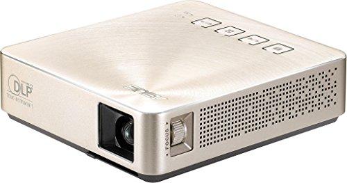 ASUSS1TravelポータブルLEDプロジェクター(HDMI/MHL、USB、854x480)、シルバー