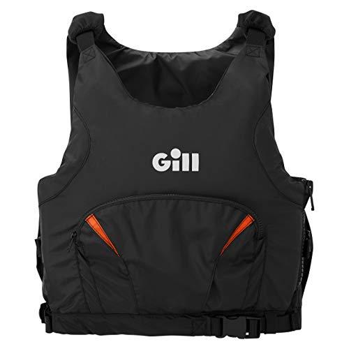 Gill Pro Racer Side Zip 50N Kayak Dinghy Sailing PFD Buoyancy Aid para Deportes acuáticos - Naranja - Unisex