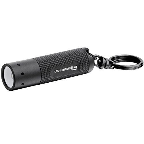 Advanced lampe torche porte-clés LED Lenser K2 Noir 25 lumens Taille 4 X AG13 batteries [Lot de 1] – -