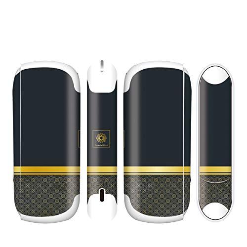 電子たばこ タバコ 煙草 喫煙具 専用スキンシール 対応機種 iQOS3 アイコス3 Graceful Gold デザイン 10 Graceful Gold 21-iq08-2254