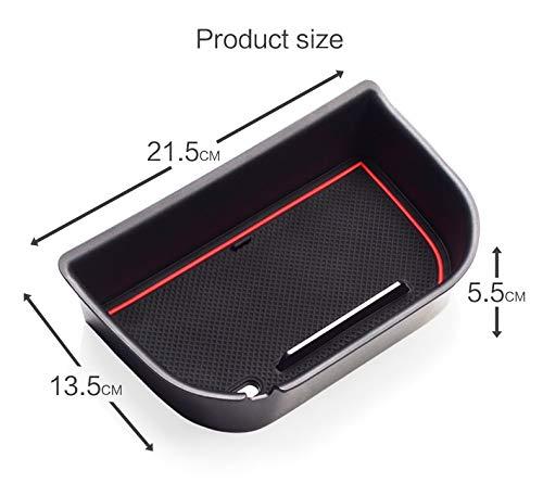 linfei Armlehne Aufbewahrungsbox Für Nissan Navara Np300 D23 2015-2020 Verstauen Aufräumen Organizer Zubehör