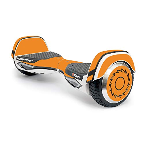 MightySkins Skin Compatible with Razor Hovertrax 2.0 Hover Board - Solid Orange | Protective, Durable, and Unique Vinyl Decal wrap Cover | Easy to Apply, Remove, and Change Styles | Made in The USA