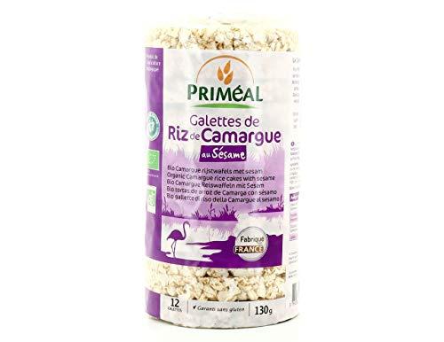 PRIMÉAL Galettes Riz de Camargue Sésame 0.13 g 1 Unité