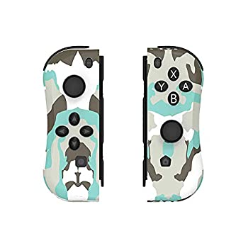 MEIZHEN Joy Con Controller Replacement for Switch - Left and Right Controllers Wired/Wireless Remotes  Camouflage