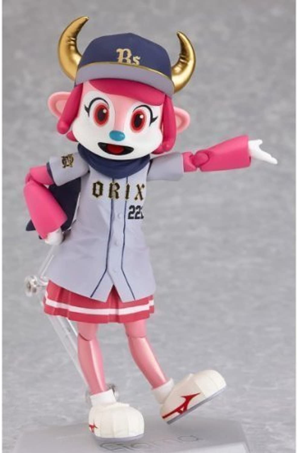 Figma Orix Buffaloes official mascot Buffalo Bell (non-scale ABS & PVC painted action figure) visitor ver. (japan import)