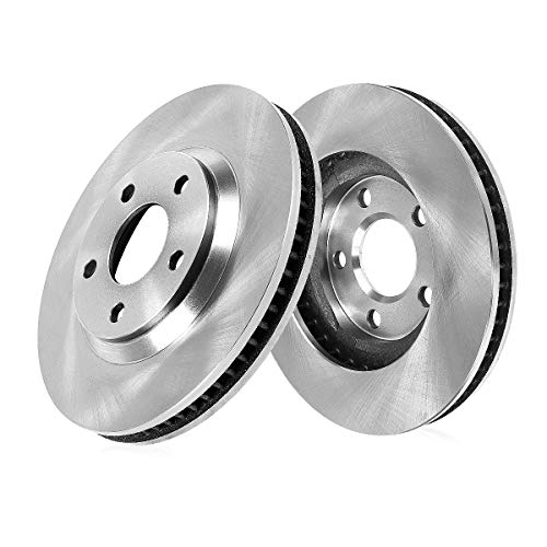 CRK12699 FRONT Premium Grade OE 296 mm [2] Rotors Set [ fit BMW E39 525 528 Series ]
