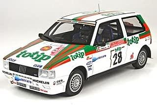 Top Marques Fiat Uno Turbo (Alex Fiorio - San Remo Rally 1986) Resin Model Car