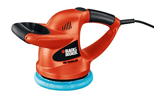 BLACK+DECKER 6-inch Random Orbit Waxer/Polisher...