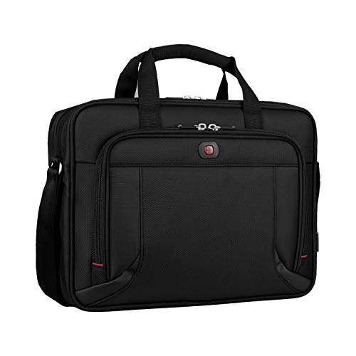 Wenger 600649 PROSPECTUS 16 Inch Laptop Briefcase, Padded Laptop Compartment with...