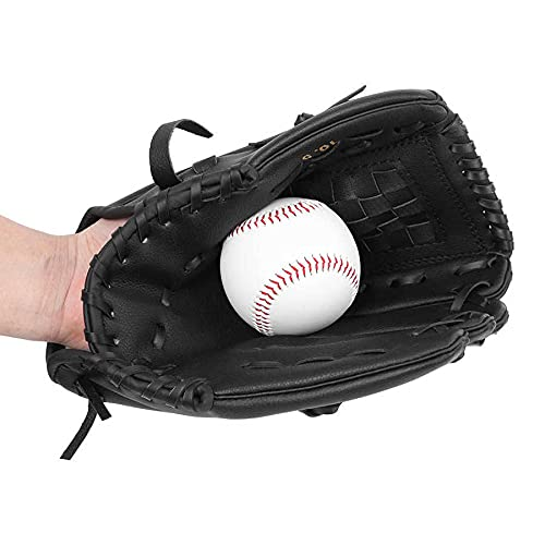 BANGHA Guante De BéIsbol Guante de béisbol Espesado Guante de béisbol de Softball niños Jarra de Adolescente Jarra de Softball Equipo de práctica