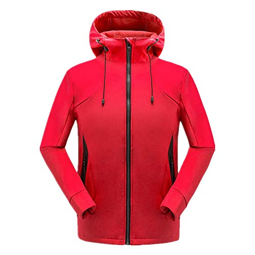 YSZDM heren outdoor fleece jas winddicht warm werkkleding casual outdoor capuchon plus grootte jas dikke warm bergbeklimmen fietsjack windbreaker