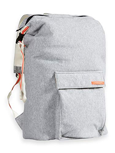 SCOTCH & SODA Black Nomade Backpack Grey Melange