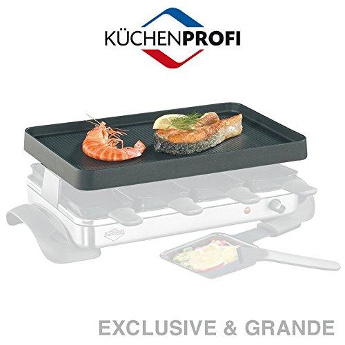 Küchenprofi Ersatz-Grillplatte für Raclette Grande & Exclusive