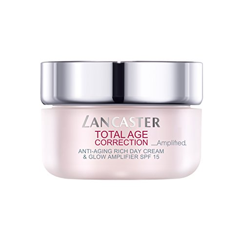 LANCASTER Total Age Correction Amplified Anti-Aging Rich Day Cream & Glow Amplifier LSF 15, Anti-Aging Tagescreme, 50 ml