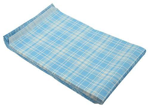 100 bolsas de regalo de papel para fiestas, bodas, joyas para llevar en todas las ocasiones (azul de cartán, bolsa de regalo, 10 x 15 cm)