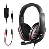 Gaming Headset?for PS4 Xbox One? JAMSWALL 3.5mm Wired Over-head Stereo Gaming Headset Headphone with Mic Microphone, Volume Control for SONY PS4 PC Tablet Laptop Smartphone Xbox One