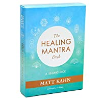 The Healing Mantra EGuideブック付きの完全英語版のタロットデッキEinstructionカードゲーム占いゲームは運命予測カードゲームを設定します