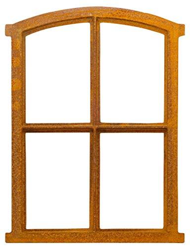 aubaho Fenster Rost Stallfenster Eisenfenster Scheunenfenster Eisen 49cm Antik-Stil a3