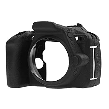Professional Secure Silicone Camera Cover Housing Rubber Protective Body Skin Bag for Nikon D5500 D5600 DSLR Camera Case  Black