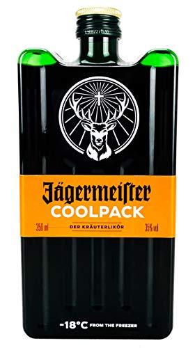 Jägermeister Coolpack 0,35l (35% Vol) Kräuterlikör Bar Drink - [Enthält Sulfite]