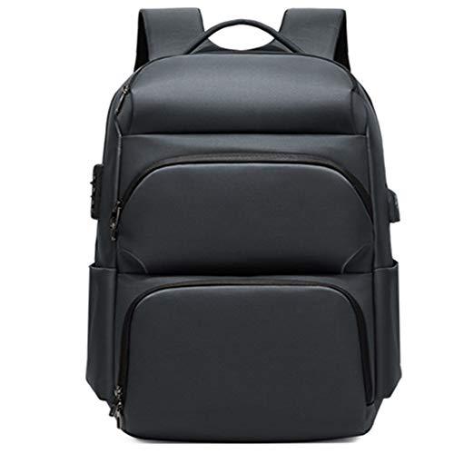 TOOSD Diebstahlsicherer Laptop-Rucksack 17 Zoll Mit USB-Ladeanschluss Und RFID-Tasche, Tagesrucksack Für Männer Und Frauen,A