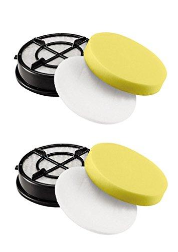 OxoxO Bissell Style Compatible 16871 filtre compatible avec aspirateur Modèle 1650 Série 2 Pack