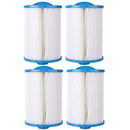 HLL Cartouche filtrante de Remplacement FC-356 pour 50 Pieds carrés Polyester 150 Fois Jacuzzi (4Pack)