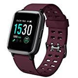 <span class='highlight'><span class='highlight'>YAMAY</span></span> Smartwatch Fitness Watch Men Women Waterproof IP68 Smart Watch Heart Rate Monitor Wrist Pedometer Smartband Activity Tracker Children Stopwatch for Android iOS purple
