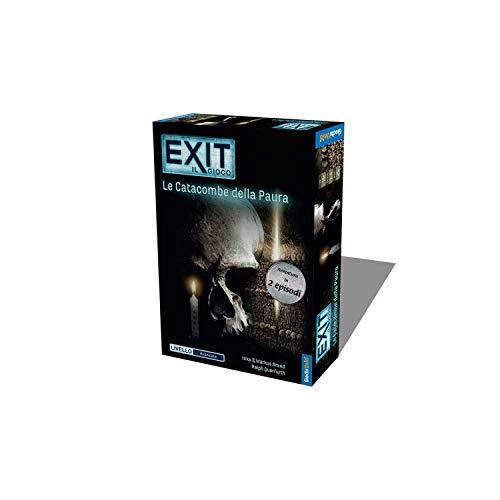 Giochi Uniti - Exit Le Catacombe della Paura Gioco da Tavolo, Colori, GU648