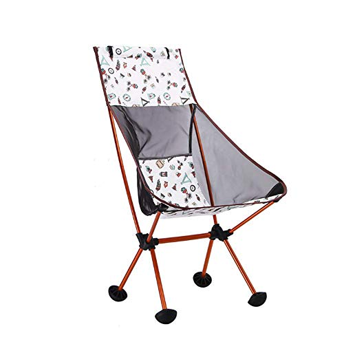 BSDBDF Chaise de pêche portative Respirante avec des Sacs de Transport pour Les activités de Plein air, Festival, Plage, randonnée